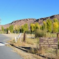 Pleasant Valley campground entrance.- Pleasant Valley Campground
