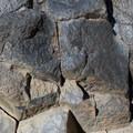 Basalt columns of Devils Postpile National Monument.- Devils Postpile National Monument