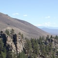 Bald Mountain and Clark Canyon.- Jeffrey Pine Forest