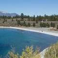 June Lake Beach.- June Lake Loop