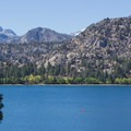 June Lake is known for its world-class trout fishing.- June Lake Loop