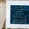 The lighthouse is open for tours.- Point Pinos Lighthouse