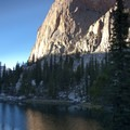 Sunset on the Elephants Perch.- Saddleback Lakes
