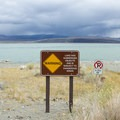 Mono Lake's islands can be reached by boat, but beware of sunken tufa. - Old Marina