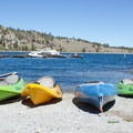 Kayaks and boats can be rented at the June Lake Marina. - June Lake Loop