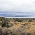 Black Point and Mono Lake.- Mono Lake Tufa State Natural Reserve