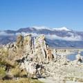 Mono Lake South Tufa and the Sierra Nevada.- Mono Lake Tufa State Natural Reserve