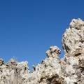 Calcium carbonate pillars formed by underwater springs.- Mono Lake Tufa State Natural Reserve