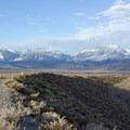 Panum Crater Rim Trail.- Panum Crater Rim Trail