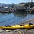 The beach at Cascade Bay.- Orcas Island: Sea Kayaking Obstruction Pass Beach to Cascade Bay