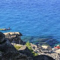 Kayakers off of Rubicon Point.- D.L. Bliss State Park