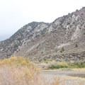 In the spring, kayakers choose Chris Flat Campground for its proximity to the West Walker River.- Chris Flat Campground