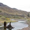 The West Walker River near Chris Flat Campground.- Chris Flat Campground