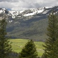 Elk Meadow is an expansive 3-mile-long alpine meadow that is tucked into the northern end of the Sawtooth Wilderness.- Elk Meadow + Elizabeth Lake