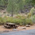 Chris Flat Campground.- Chris Flat Campground