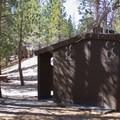 Upper Deadman has vault toilets and no running water.- Upper Deadman Campground