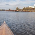 Kayaking along the Duwamish Waterway.- Duwamish Waterway Sea Kayaking