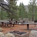 Day use picnic area at Buckeye Trailhead.- Buckeye Campground
