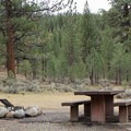 A typical site at Buckeye Campground.- Buckeye Campground