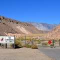 Entrance into the Pleasant Valley Resevoir and dam area.- Upper Owens River and Pleasant Valley Reservoir