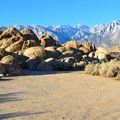 Alabama Hills Dispersed Camping Area.- Alabama Hills Dispersed Camping Area