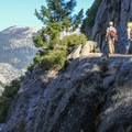The Four Mile Trail.- Four Mile Trail to Glacier Point