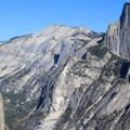 The rewards of the hike: stellar views.- Four Mile Trail to Glacier Point
