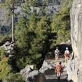 Four Mile Trail.- Four Mile Trail to Glacier Point