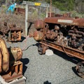 Mine ventilation fan and air compressor.- Almaden Quicksilver County Park Historic Trail