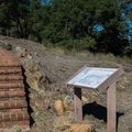 A dedication to the English Camp and Civilian Conservation Corps.- Almaden Quicksilver County Park Historic Trail