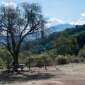 Picnic area at English Camp.- Almaden Quicksilver County Park Historic Trail