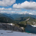 Alpine views above Cyclone Lake.- Cyclone Lake