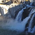 Shoshone Falls from the viewing platform.- Shoshone Falls Park