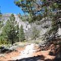 Big Pine Creek North Fork Trail.- First Falls Day Hike