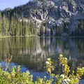 Kelly Lake in late July.- Marten + Kelly Lake, Bench Creek Divide