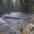 Iron Creek blur.- Goat Lake via the Alpine Way Trail