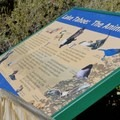 Information signs along the trail.- Sand Harbor State Park