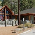 The visitor center at Sand Harbor State Park.- Sand Harbor State Park