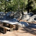 A picnic area in Sand Harbor State Park.- Sand Harbor State Park