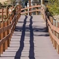 The natutre trail in Sand Harbor State Park is an easy half-mile trail.- Sand Harbor State Park
