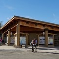 Visitor's center and bathrooms.- Tamarack Peak Loop
