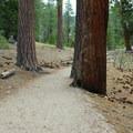 John Muir Trail.- Half Dome Hike via John Muir Trail