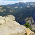 Views from the Half Dome Tail.- Half Dome Hike via John Muir Trail