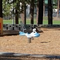 The playground at Zephyr Cove Park.- Zephyr Cove Park