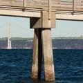 The Tacoma Narrows Bridge.- Fox Island Sea Kayaking