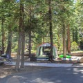 General Creek Campground, located across Highway 89, offers 175 sites.- Sugar Pine Point State Park