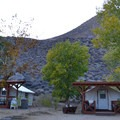 Tent Cabins.- Keough's Hot Springs Campground