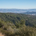 View of Santa Cruz and Diablo Mountains.- Knibbs Knob
