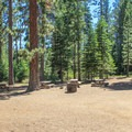 Group campsite.- General Creek Campground