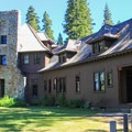 Ehrman mansion is the centerpiece of the park.- General Creek Campground